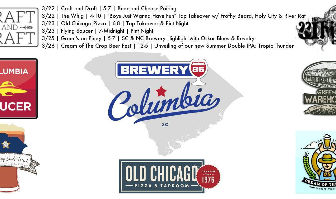 Brewery 85 Columbia Week