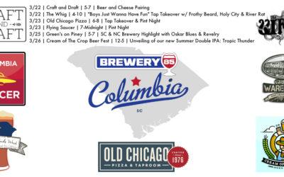 Brewery 85 Columbia Week